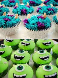 monsters inc cupcakes u2026 pinteres u2026