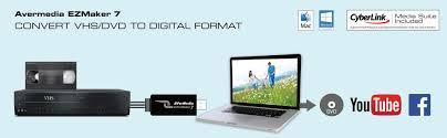 amazon com avermedia ezmaker 7 standard definition usb video