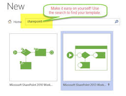 create a new workflow with visio and sharepoint designer