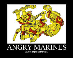 Angry Marines Meme - can the angry marines be taken seriously amicus aedes the