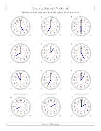 awesome collection of telling time 24 hour clock worksheets in
