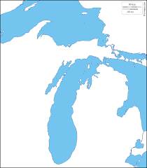 A Map Of Michigan by Michigan Free Map Free Blank Map Free Outline Map Free Base