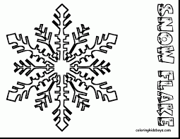 printable coloring pages snowflake coloring pages printable