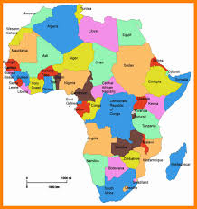Political Map Of Africa by 6 Africa Political Map 2017 Sales Clerked