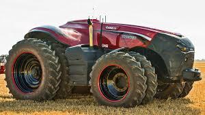 case ih autonomous concept tractor youtube