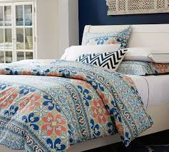 Pottery Barn College Bedding This One Is Really Bold But I Do Like The Color Combo Especially
