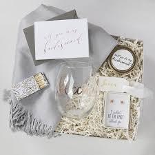 Bridesmaid Asking Gifts Bridesmaid Gift Box No 2 Foxblossom Co