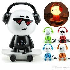 Small Battery Desk Lamp Online Cheap Super Q Edition Music Boy Small Desk Lamp Bed Head