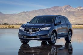 hybrid acura acura electrifies suv lineup with powerful and efficient 2017 mdx