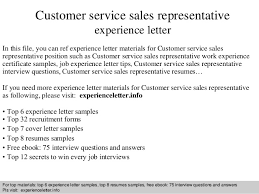 cover letter for customer service customer service representative