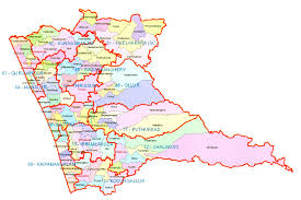 Kerala India Map by Kerala Travel Map District Wise Map Thiruvananthapuram Kollam