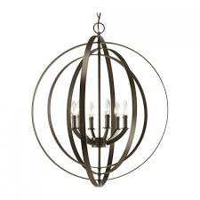 Iron Orb Chandelier Accessories Beautiful Orb Chandelier For Interior Lighting Ideas
