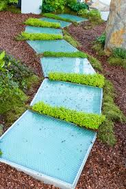 Backyard Stepping Stones by Scented Thyme Plants Used Between Stepping Stones Plant U0026 Flower