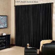 Blackout Curtains For Media Room Insulated Thermal Curtains Light Blackout Curtains And Drape