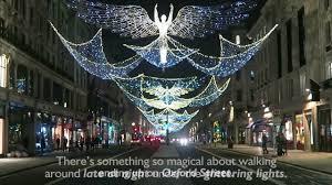 london christmas lights walking tour central london s christmas lights youtube