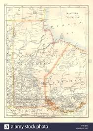 Winnipeg Canada Map by Manitoba Winnipeg Western Ontario Canada Railroads Johnston