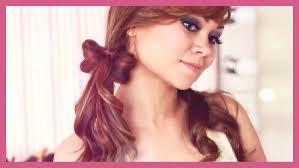 hair bow tutorial no bobby pins youtube
