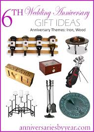 year anniversary gift for him 14 best 6th anniversary gifts iron wood images on