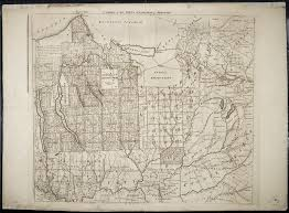 Maps Of New York State by 18th Century Map Of The New York Military Tract Rare U0026 Antique Maps