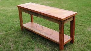 Narrow Sofa Table Sofa Table Design Barnwood Sofa Table Astounding Design Maple