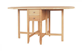 Oak Drop Leaf Table Moreno Solid Oak Drop Leaf Dining Table By Clemence Richard