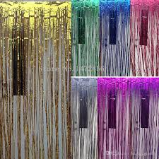 party backdrops aliexpress buy wedding party backdrop tinsel curtain 1m 1m