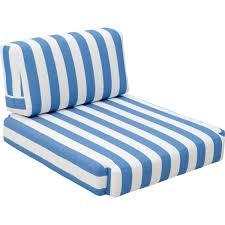 Modern White Arm Chairs Zuo Modern 703565 Bilander Outdoor Arm Chair Cushion In Blue