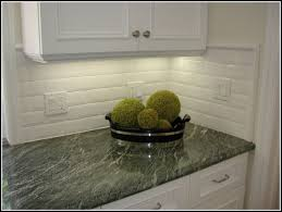Subway Tiles Backsplash Kitchen Beveled Subway Tile Kitchen Arminbachmann