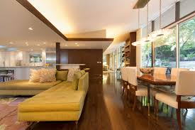 modern grey nuance of the mid century floor plans that has cream