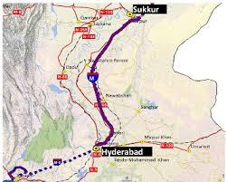 sukkur map sindh sukkur hyderabad motorway m 6 infrastructure app