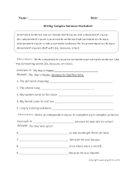 sentence structure worksheets types of sentences worksheets