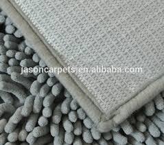 Microfiber Chenille Bath Rug Orange Color Microfiber Polyester Chenille Bath Mat Buy Chenille