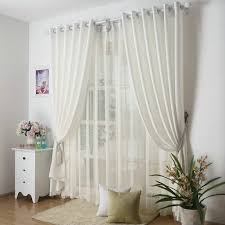 Kitchen Curtains Uk by Aliexpress Com Buy Kitchen Curtains Solid Color Drapes For