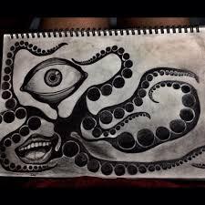 pencildrawing drawing sketch octopus pencil