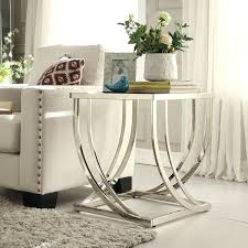 Glass End Tables Glass End Tables For Living Room Furniture Sentryway Coffee Table