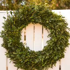 boxwood wreath 30 32 fresh boxwood wreath the blaithin blair shop