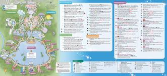 Printable Map Of Disney World by Epcot Park Map Adriftskateshop