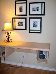 desks collapsible wall shelf floating wall desk ikea space