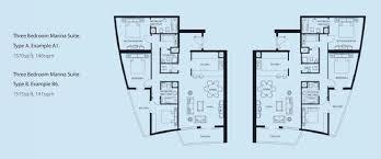 bay central floor plans dubai marina