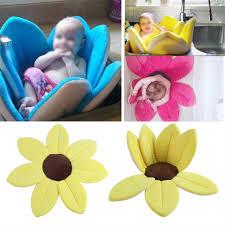 newborn baby infant cute blooming flower shape lotus bath tub sink newborn baby infant cute blooming flower shape lotus bath tub sink shower mat es