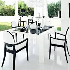 black and white dining room chair cushions table set chairs cheap