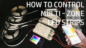 led strip lights wifi controller how to control multi zones ct rgbw led strip lights wifi control