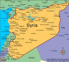 map of syria syria map nsnbc