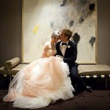 ombre wedding dress ombre wedding dress trend popsugar fashion