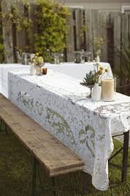 How To Build A Round Wooden Picnic Table by Best 25 Picnic Table Wedding Ideas On Pinterest White Floral