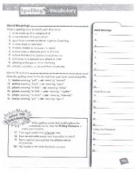free worksheets spelling and vocabulary worksheets free math