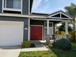 new sherwin williams paint night owl with seattle red doors grey