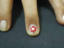 manicure care of your hands and nails 3 ways to make cute flower nail designs wikihow