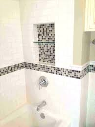 bathroom subway tile ideas accent bathroom tile white subway tile bathroom accent bathtub
