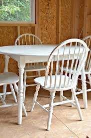 How To Paint A Table How To Paint A Dining Set At Home With The Barkers